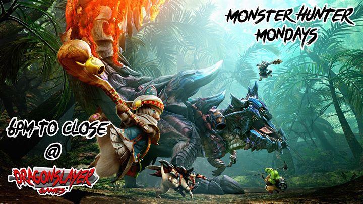 Monster Hunter Mondays