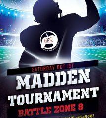 Madden Tournament – BattleZone 8: Jus-Flex – Oklahoma City, OK