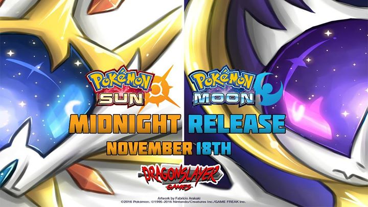 pokemon at pokemon sun and moon midnight release okgamers com