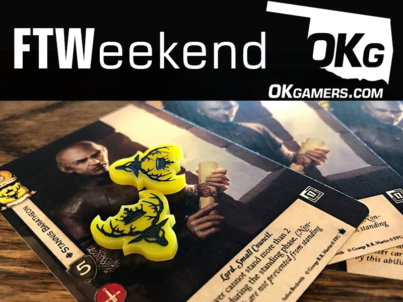 FTWeekend: Blood Bowl, Smash, a PC LAN Party, Game of Thrones TCG, Board Games and Beer and a Zombie LARP