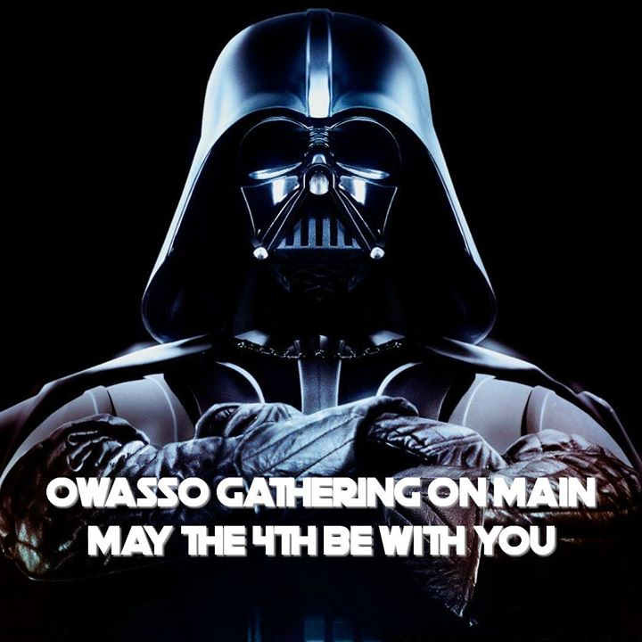 Star Wars At Owasso Gathering On Main