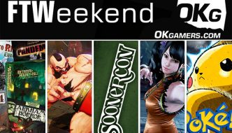 FTWeekend: SoonerCon, Pokemon TCG and VG, Fighting Game Tournament and Board Games