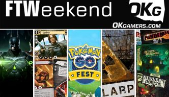 FTWeekend: Pokémon Go, Injustice 2, Fallout LARP, Star Wars LCG and Tabletop Games