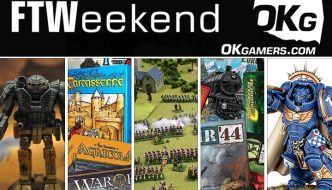 FTWeekend: ManeuversCon, Warhammer 40k, Board Games and BattleTech