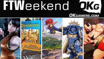 FTWeekend: Warhammer, Fighting Game Tournaments, Board Games and PC LAN