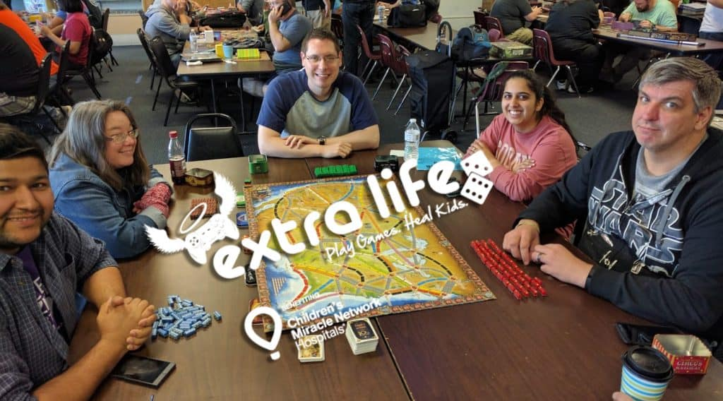 Extra Life at Game HQ