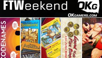 FTWeekend: Board Games, Pokemon TCG, Legend of the Five Rings and Codenames