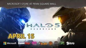 Halo 5 at Microsoft
