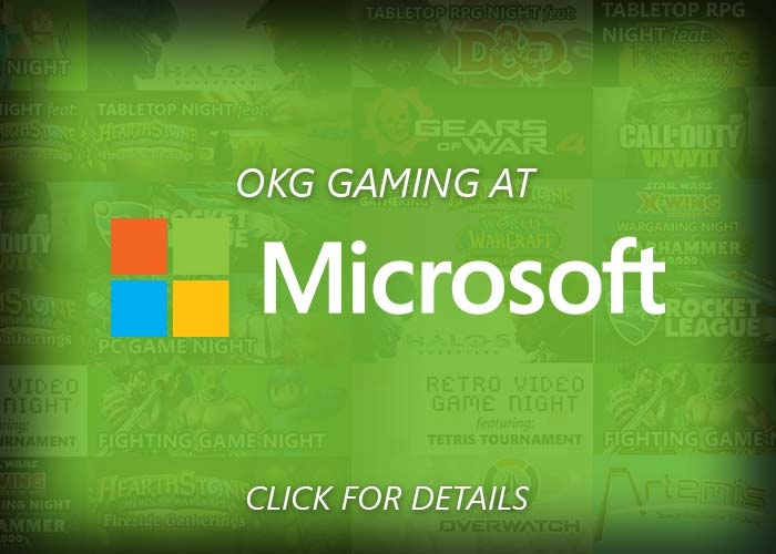 Gaming at Microsoft Stores organized by OKgamers.com - Click here for Details!