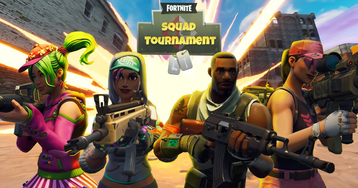Fortnite at Fortnite Monthly Event at Start (Squads + Solos Tournaments) -  OKgamers com - Since 2006